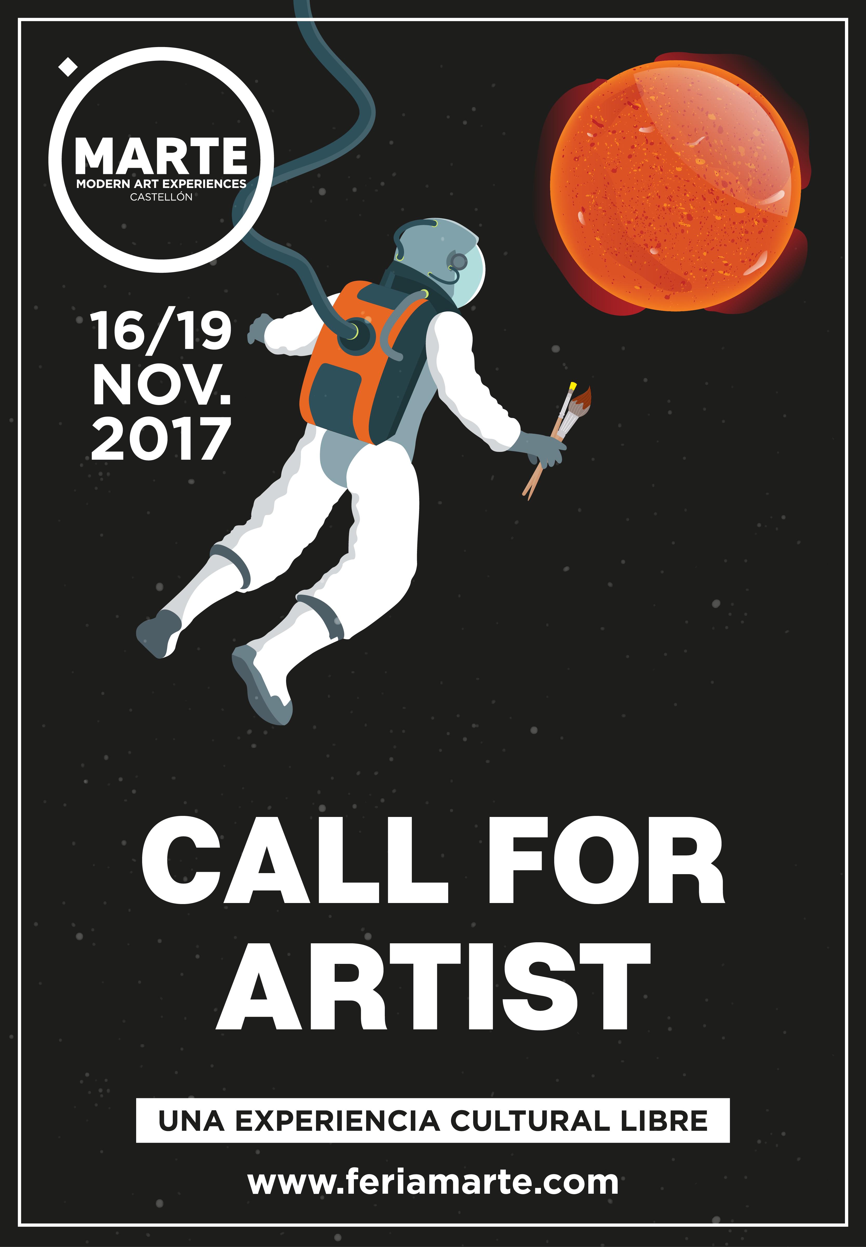 CALL FOR ARTIST-01